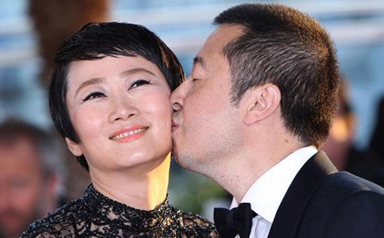 Zhao Tao & Jia Zhangke at Cannes