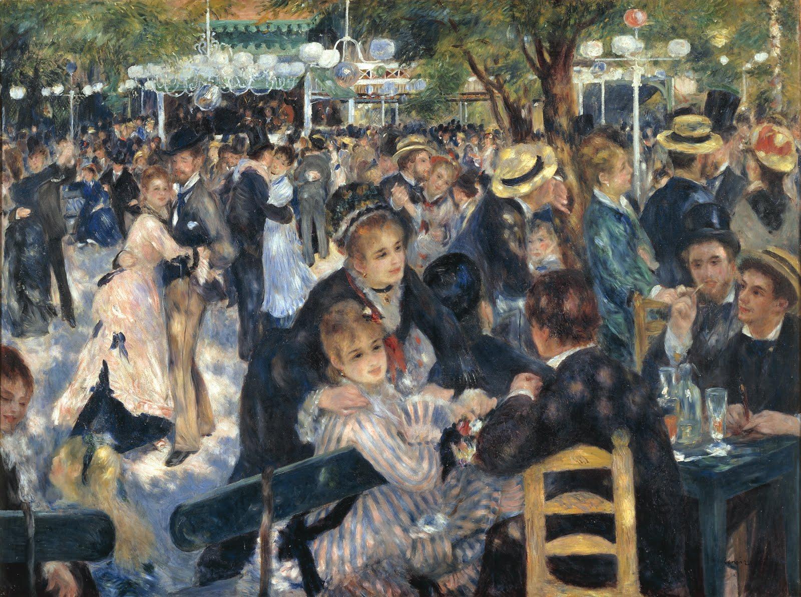 Pierre-Auguste Renoir - Baile do Moinho da Galette