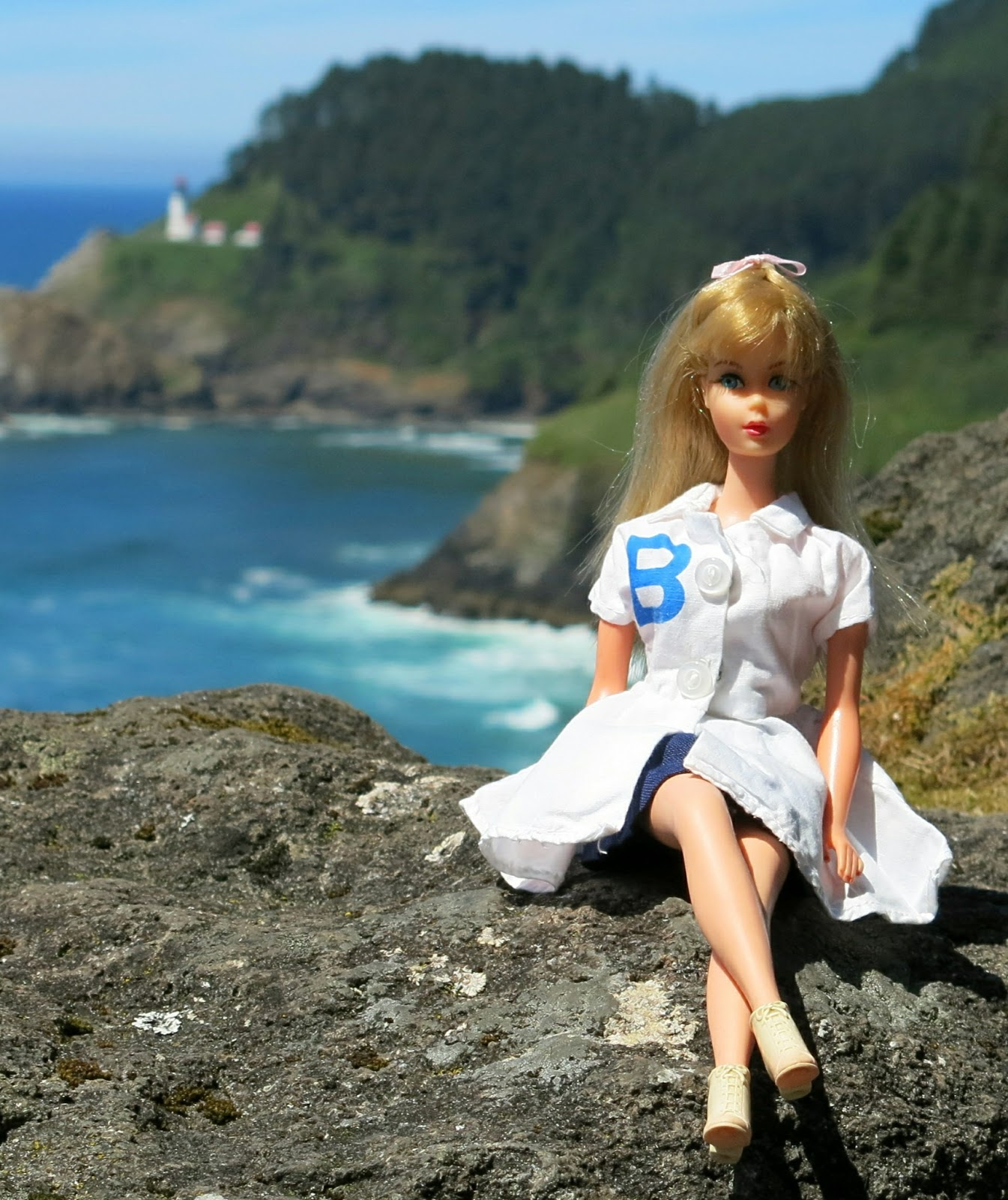 My vintage barbies blog barbie 39 s adventures heceta head for What state has the most lighthouses