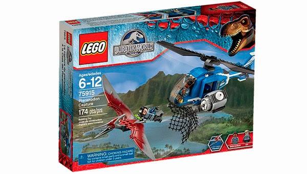 Lego Ref. 75915 A la Caza del Pteranodon