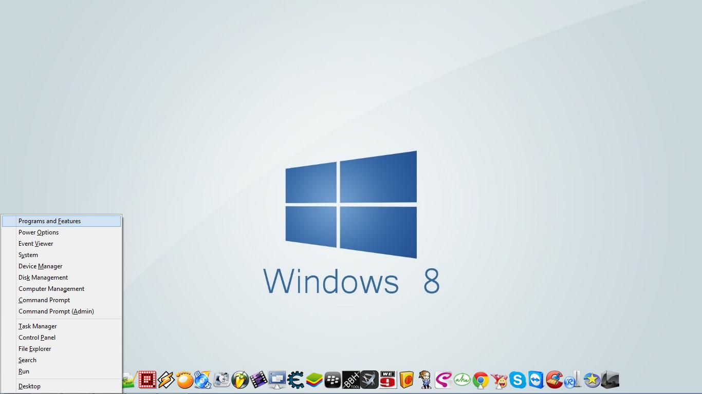 atau cara cepatnya Win + X + Program And Features ( tekan F aja) lihat ...