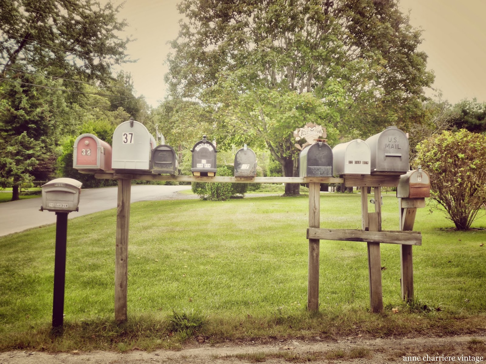 buzón de correo américano
