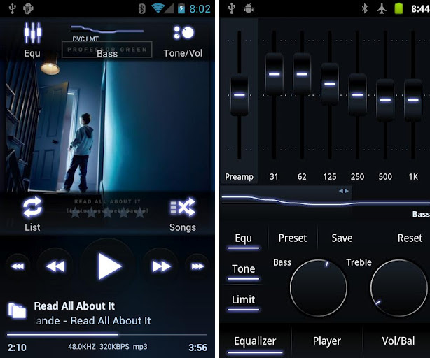 android mp3 player app