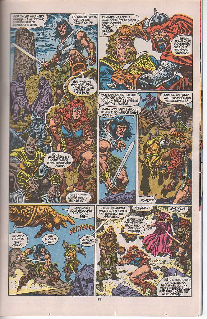 Conan the Barbarian (1970) Issue #250 #262 - English 18