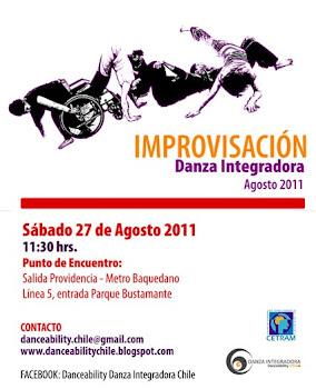 Invitación Improvisación 27 de agosto