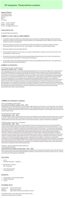 Accountant Sample Cv5