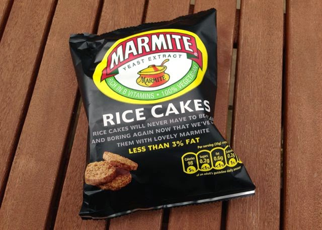 Marmite Rice Cakes are vegan