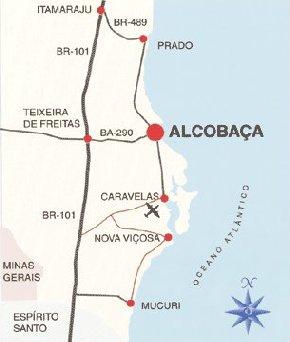 Alcobaça mapa