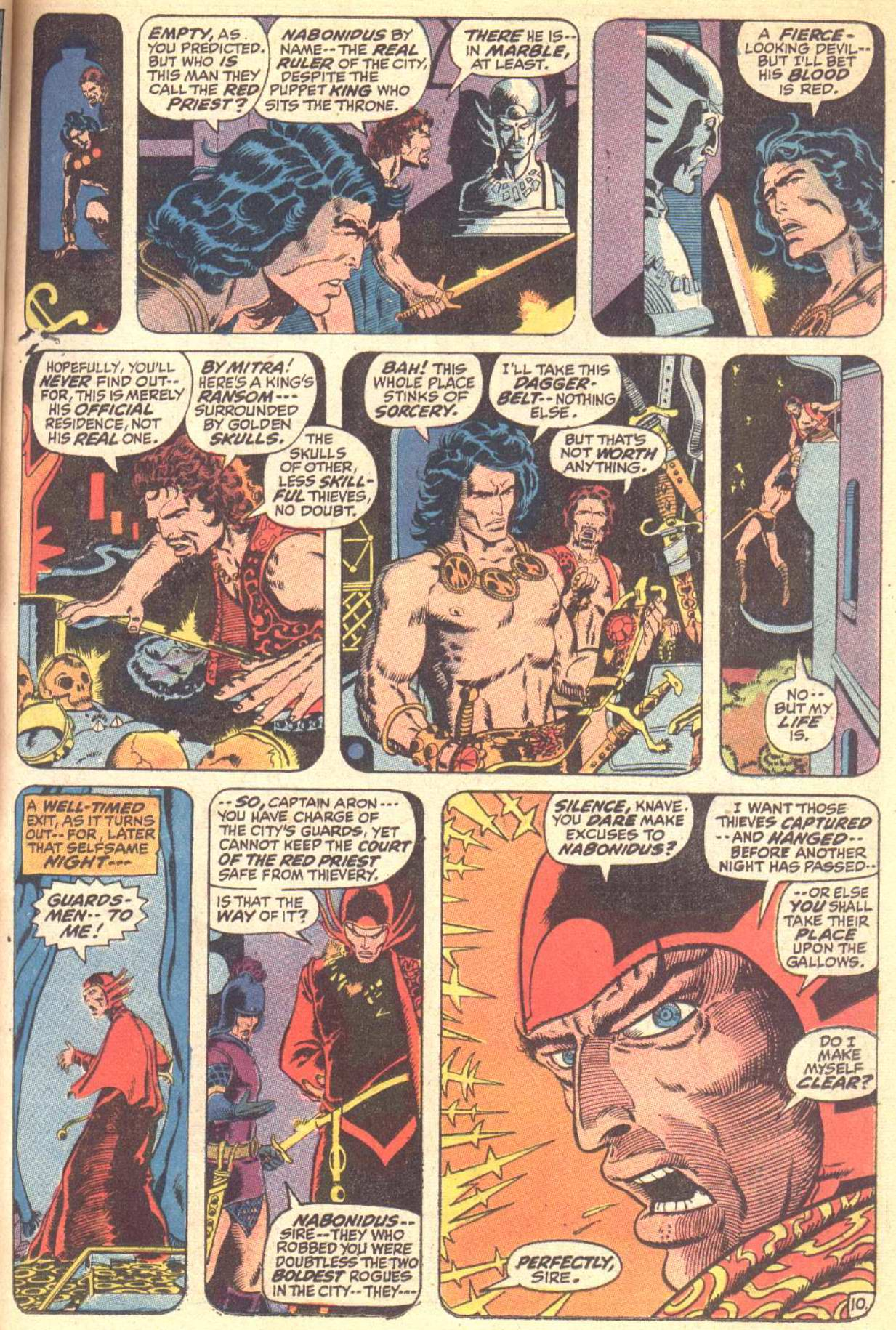 Conan the Barbarian (1970) Issue #10 #22 - English 11