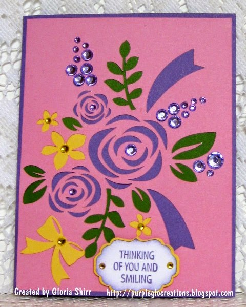 Featured Card for Love To Scrap Challenge Blog