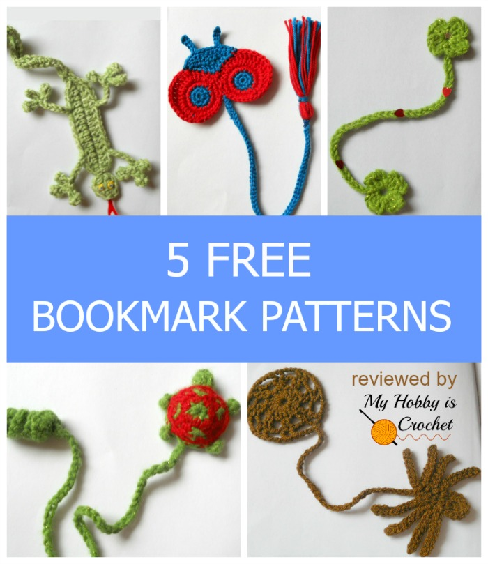 My Hobby Is Crochet Bookmarks For Kids 40 Free Crochet Patterns New Crochet Bookmark Pattern