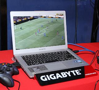 Harga dan Spesifikasi Ultrabook Gigabyte Ultra Pro Book U2442V
