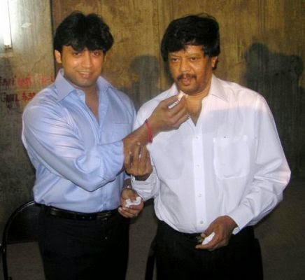 Prashanth with Father