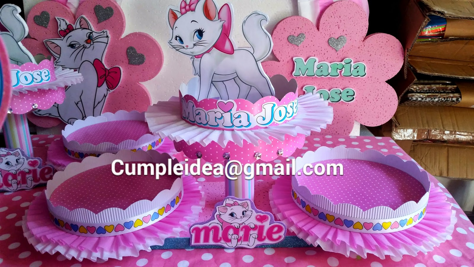 Decoraciones infantiles gatita marie for Fotos de decoraciones