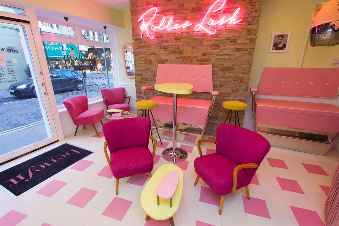 London Pop-ups: Benefit\'s \'Curls Best Friend\' Pop-up Bar in Soho