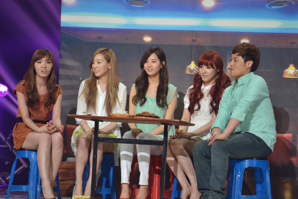 [14.5.2012] TaeTiSeo lm tan chy tri tim khn gi trong chng trnh &#8220;Gag Concert&#8221;.