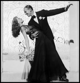 Fred Astaire y Rita Hayworth en Bailando nace el amor
