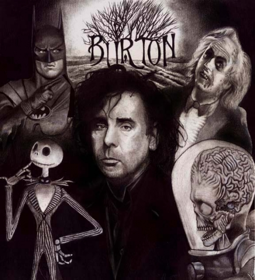 tim burton height