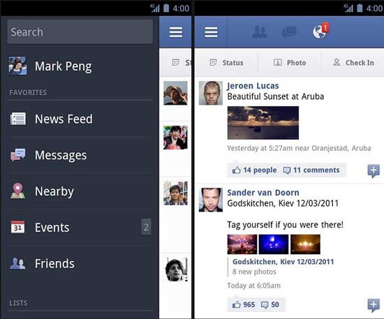 download facebook on my android mobile
