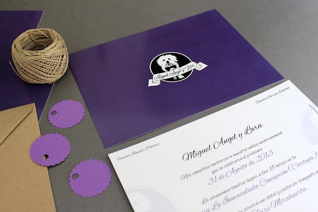 invitaciones de boda originales hermanas bolena