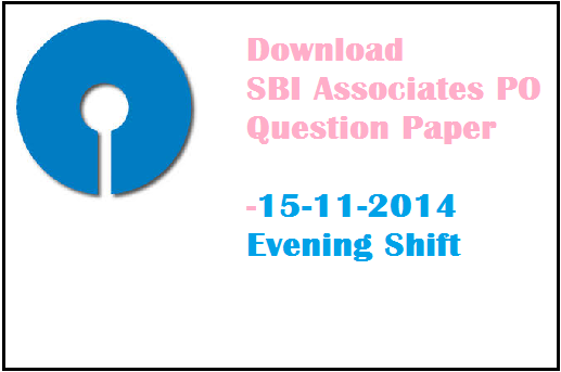 Download SBI Associates PO Exam Paper of 15th November 2014 Evening Session. In previous post we shared general awareness questions of sbi associates po online exam held on 15-11-2014 morning shift. Now in this post we are adding some computer questions of sbi associates po exam along with gk ques asked in SBI Associates po exam paper 15 Nov 2014 evening shift based on the bank po exam experience of the candidates . Read these general awareness marketing questions of SBI bank associates po recruitment exam 2014.