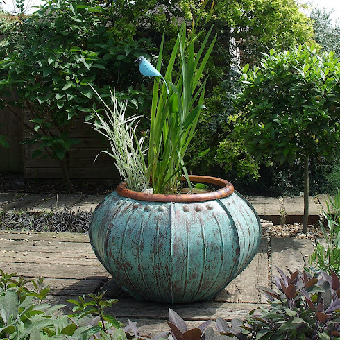 Copper Hosta Pot £1000
