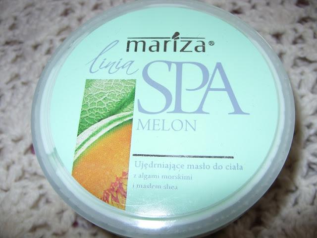 Recenzja: Ujędrniające masło do ciała Linia Spa Melon, Mariza
