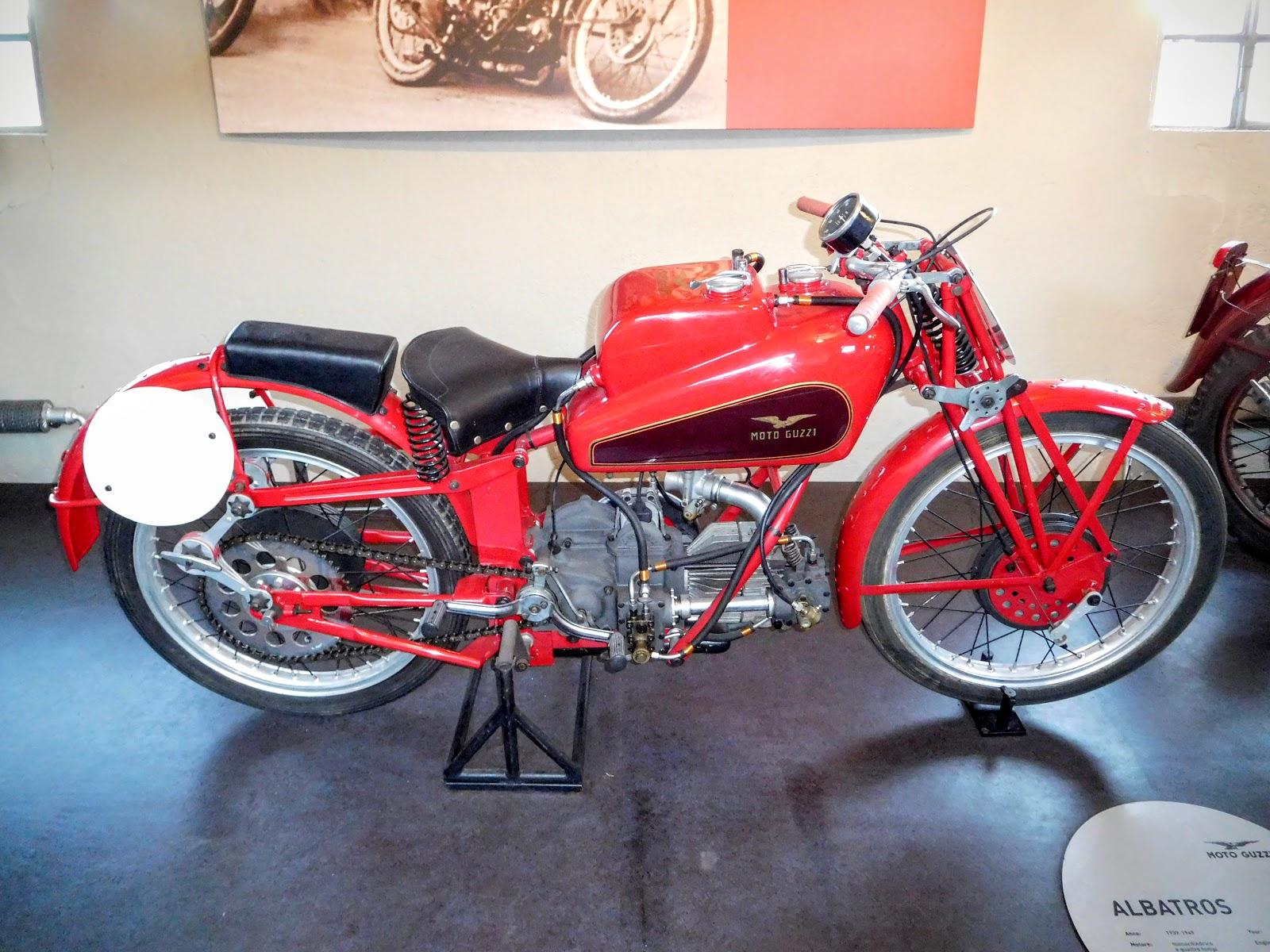 NYDucati: 1939-49 Moto Guzzi Albatros