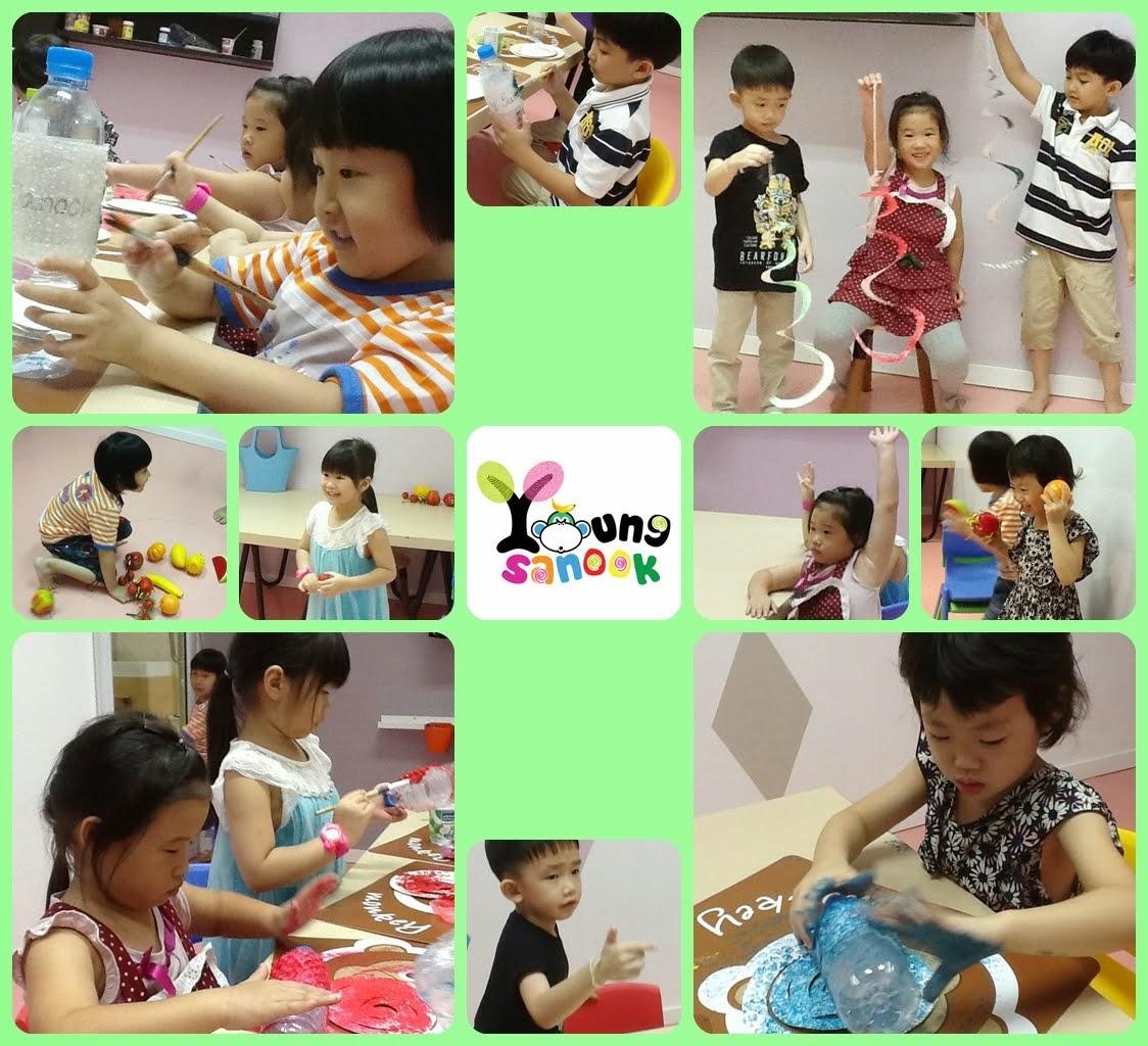 กิจกรรมสำหรับเด็กวัย 4 - 5 ขวบ
