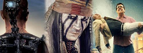Elysium The Lone Ranger The Hangover Part 3