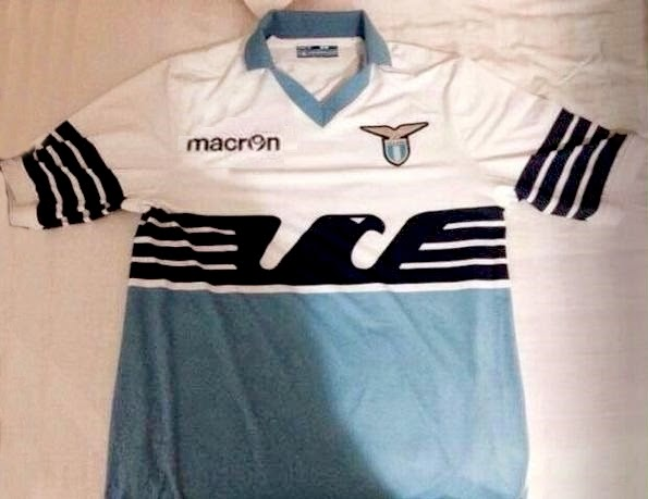 Special Edition Anniversary 115th Lazio 2015 Kit – Eagle Flag Shirt