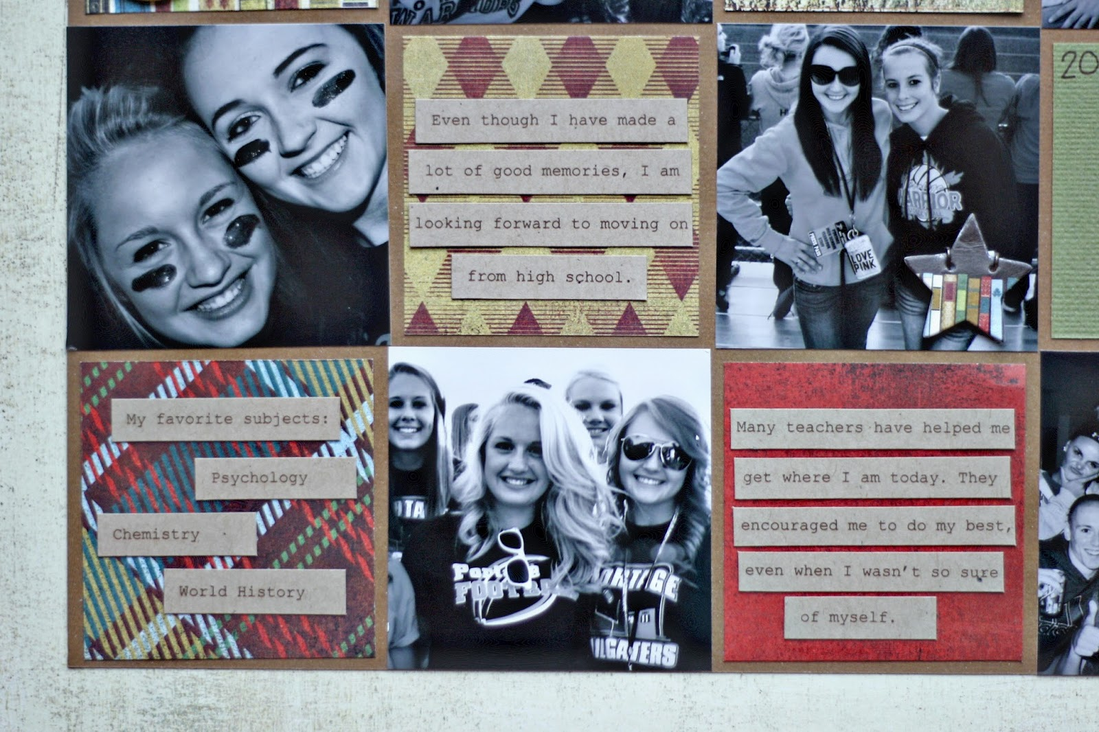 Scrapbook ideas many pictures - Scrapbook Ideas High School We Also Have A Fabulous Prize Leave A Comment Below Letting