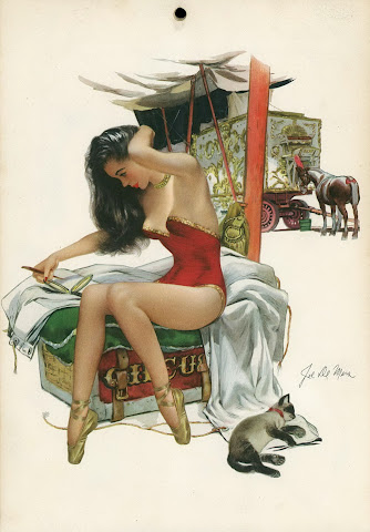 Joe De Mers pin up calendar