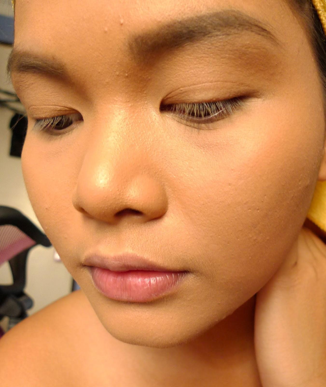 Cakey makeup dry skin