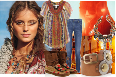 Fashion  Women  on Love The Earthy Colors The Bohemian Style Has To It