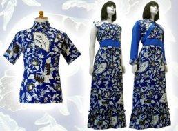 Model baju batik modern 019