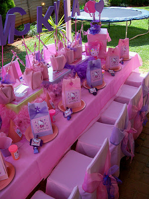 DECORACION DE FIESTA INFANTIL HELLO KITTY PARTY IDEAS