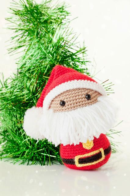 Amigurumi Papa Noel Santa Claus patron
