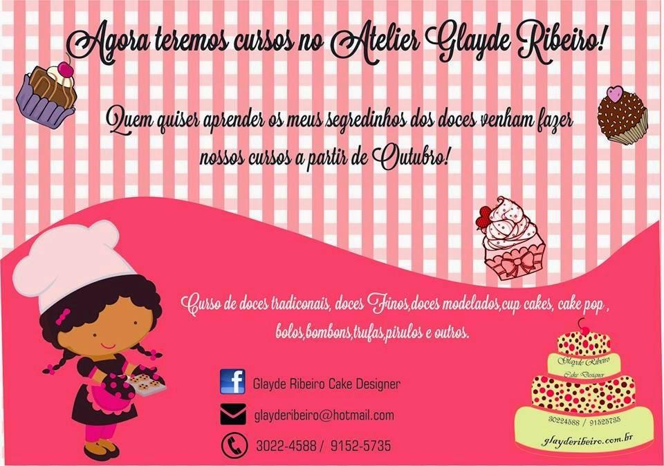 Cursos de confeitaria Glayde Ribeiro Cake Designer