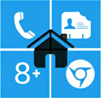 Free Download Home8+ like Windows 8 Launcher v3.6 Full Apk