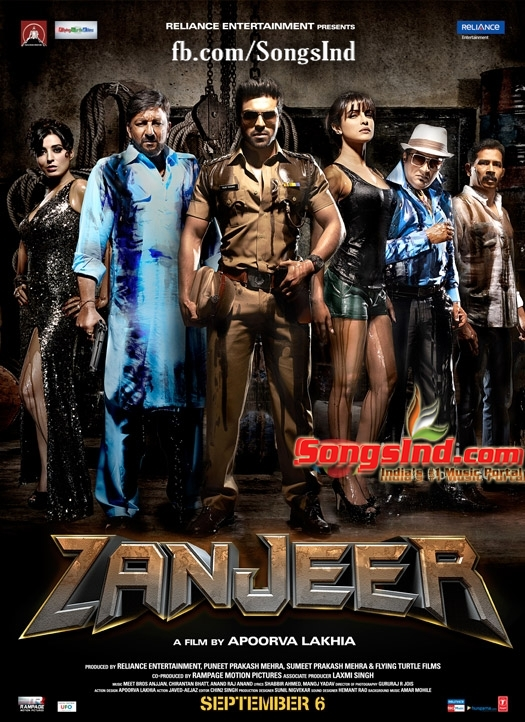 Zanjeer (2013) Hindi Mp3 Songs Free Download