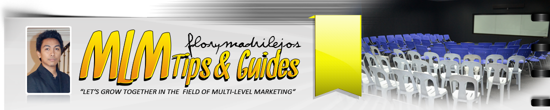 Flory Madrilejos Blog - MLM Tips and Guides