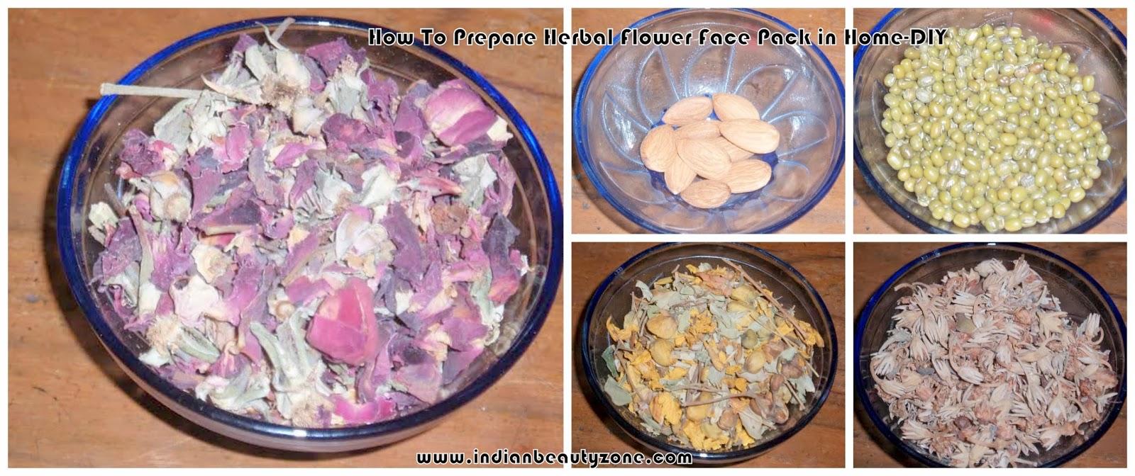 Herbal face pack for skin