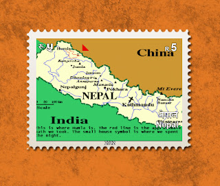 Your photo in Nepal's 5 rupee Postage Stamp