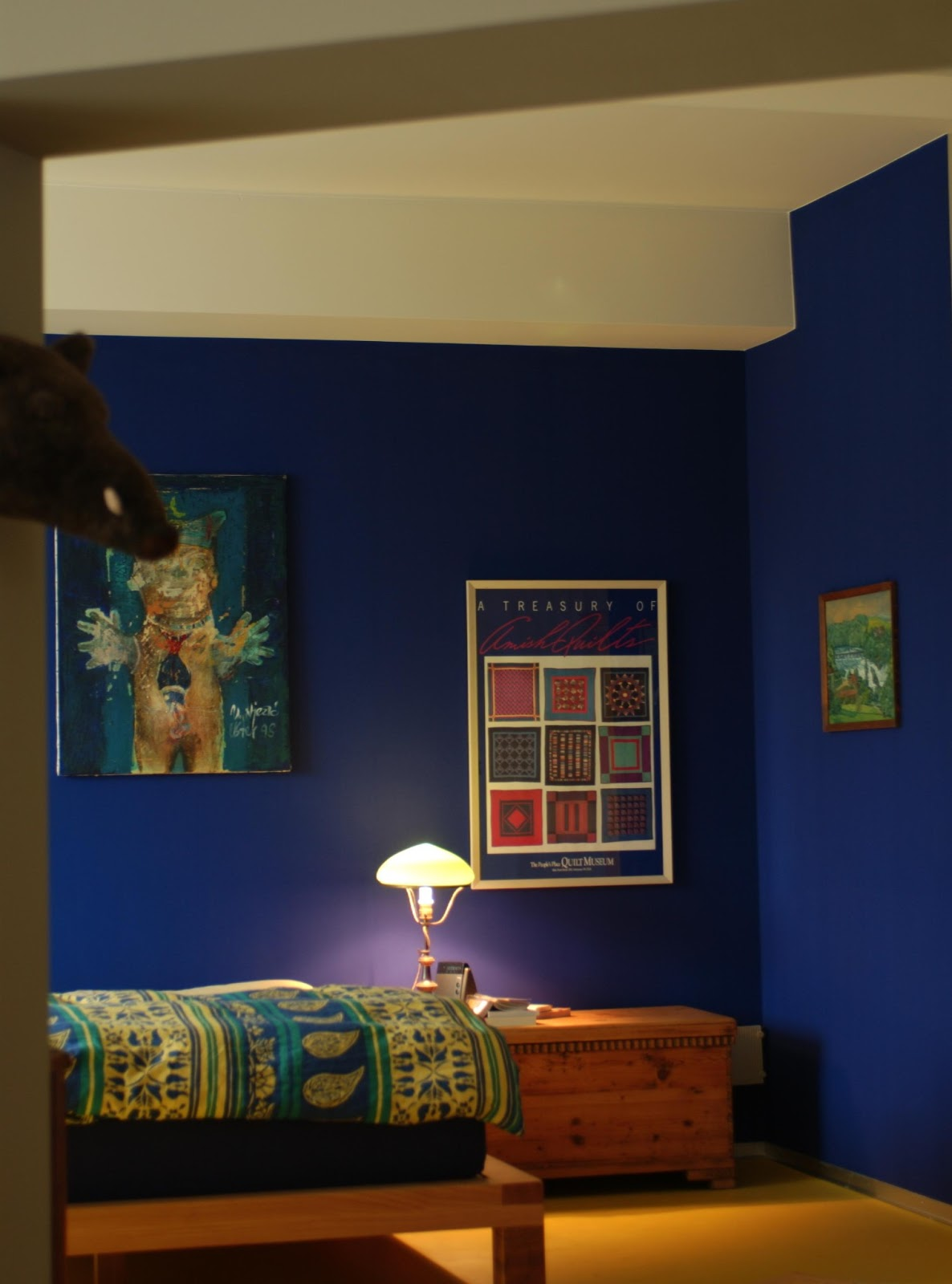 Not for boring: Decoración en AZUL !