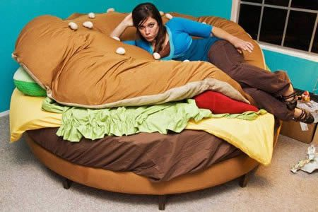 Havenu0027t You Ever Wanted To Curl Up Inside A Juicy Hamburger? No? Well, Too  Bad. The Internet Loves Hamburgers And Therefore The Glorious Hamburger Bed  Has ...