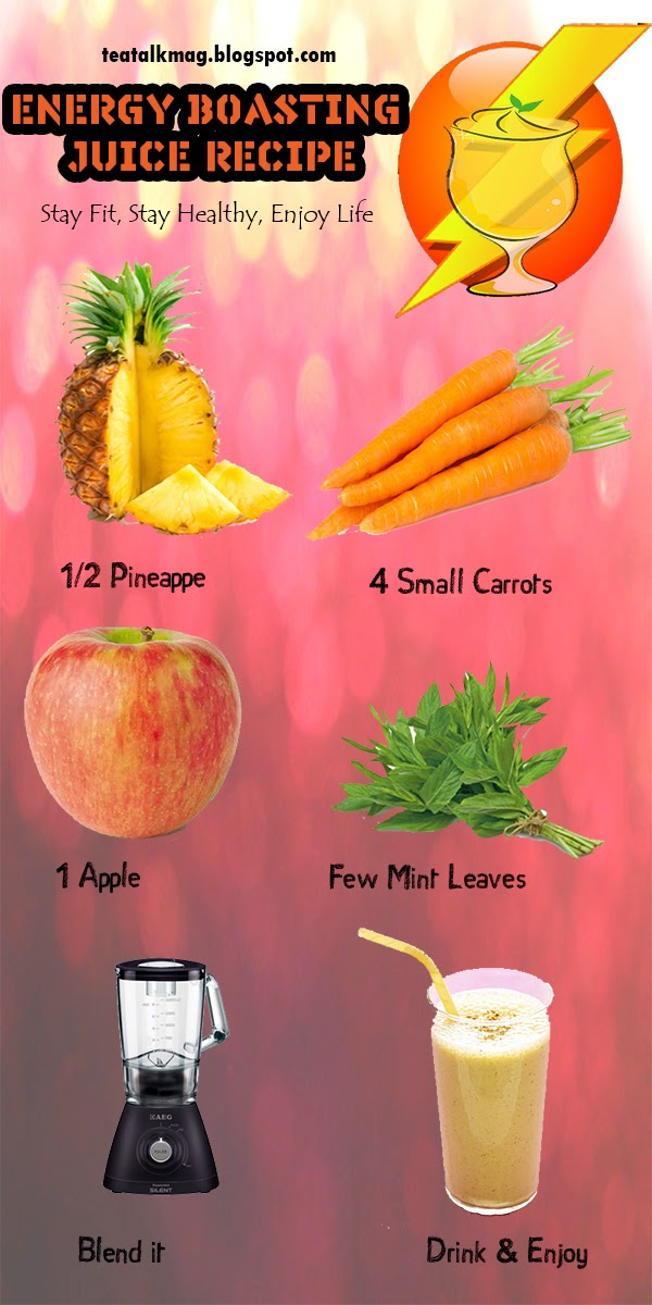 Energy Boasting Juice Recipe