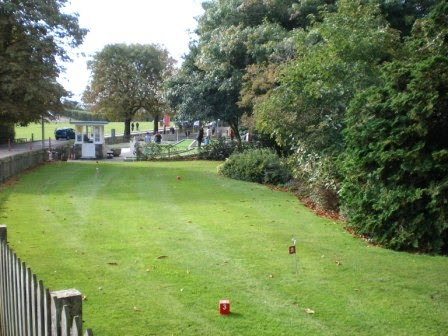 Putting Green at Poole Park in Dorset
