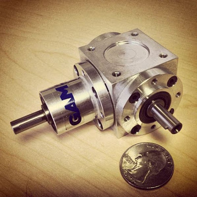 GAM L-Series Mini Spiral Bevel Gearbox