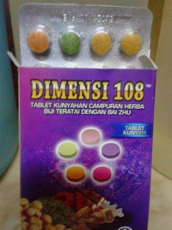 DIMENSI 108 SEBATIAN MAKANAN HERBA